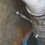 Abwasserzisterne Einlauf Grauwasser
