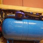 Brunnenschacht Druckschalter